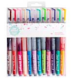 SO: Jane Davenport Mixed Media Mermaid Watercolor Markers 12pk - Brush Tip
