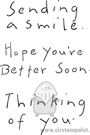 Simply Stated - Sending a Smile (words)