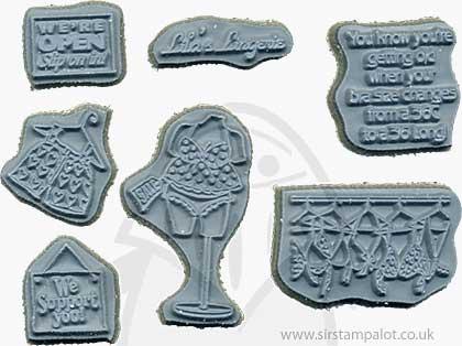 Door Ways - Unmounted Stamps - Lingerie Shoppe