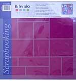 Artemio - Scrapbooking Grid - Long Rectangles