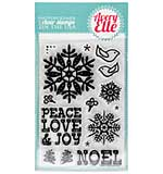 SO: Avery Elle Clear Stamp Set 4x6 - Noel
