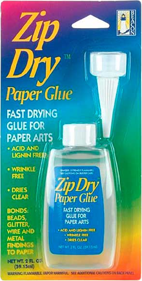 SO: Zip Dry Fast Drying Paper Glue 2fl oz