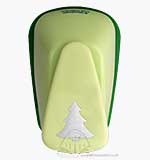 Craft Punch Large - New Christmas Tree (G)