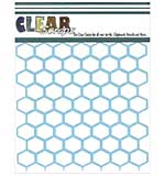 SO: Clear Scraps Stencils - Chicken Wire (6x6)