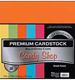 Coredinations Value Pack - Candy Shop - Smooth Cardstock, 12x12 20 Sheets