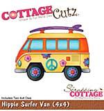 CottageCutz Die - Hippie Surfer Van