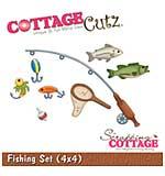 CottageCutz Die - Fishing Set