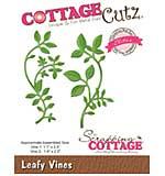 Cottagecutz Elites Die - Leafy Vines, 1.1 To 2.5