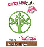 Cottagecutz Elites Die - Tree Tag Topper, 1.8x1.8