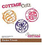SO: CottageCutz Die - Garden Friends, 2x2