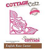 CottageCutz Elites Die - English Rose Corner, 3x2.5