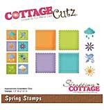 CottageCutz Die - Spring Stamps, 1.5x1.5