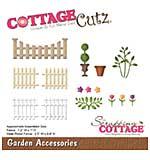 CottageCutz Die - Garden Accessories, .9 To 2.5