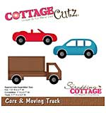 CottageCutz Die - Cars and Moving Truck, 1 To 3.3