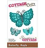 CottageCutz Die - Kayla Butterfly, 2.1x1.4