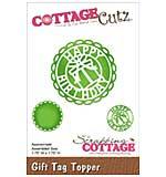 CottageCutz Die - Gift Tag Topper