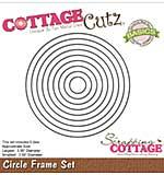 CottageCutz Basics Frame Dies 9-pkg - Circle, .56 To 3.56