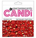 Craftwork Cards Candi - Regal Ruby (mirror red)