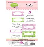 JustRite Cling Stamp set - Fancy Tags