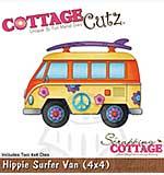 Cottage Cutz - 4x4 Cutting Dies - Hippie Surfer Van