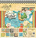 Graphic 45 - 12x12 Paper Pad - Mother Goose