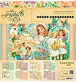 Graphic 45 - 12x12 Paper Pad - Sweet Sentiments Collection