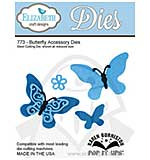 Elizabeth Craft Designs - Pop It Up Cutting Dies - Butterfly Acc