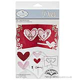 Elizabeth Craft Designs Cutting Dies - Heart Pivot Card