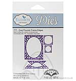 Elizabeth Craft Designs Cutting Dies - Oval Flourish Frame Edges