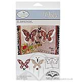 Elizabeth Craft Designs Cutting Dies - Butterfly Pivot Card