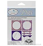 Elizabeth Craft Designs Cutting Dies - Square with Circle Frame