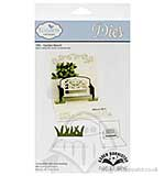Elizabeth Craft Designs Pop It Ups Cutting Dies - Garden Bench