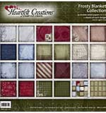 Heartfelt Creations 12x12 Paper Pad - Frosty Blanket Collection