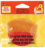 Mod Podge Brush Applicator 2.25inch in Gold Taklon Bristles