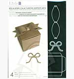 Little B Cutting Dies wMagnetic Storage Binder - Box and Bows