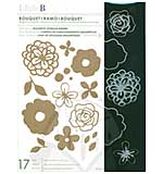 Little B Cutting Dies wMagnetic Storage Binder - Bouquet