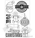 Kaiser Craft - Clear Stamps - Gingerbread