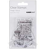 Kaiser Craft - Clear Stamp - Vintage Treasure