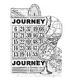 Kaiser Craft - Clear Stamp - Vintage Journey