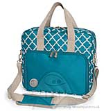We R Memory Keepers - Crafters Shoulder Bag - Blue and Grey