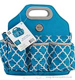 We R Memory Keepers - Crafters Tote Bag - Blue and Grey - (1