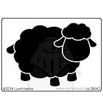 Dreamweaver Stencil - Open Sheep