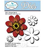 Elizabeth Craft Designs Cutting Dies - Flower Set 3