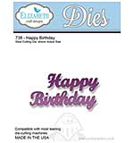 Elizabeth Craft Designs Cutting Dies - Happy Birthday