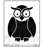Dreamweaver Stencil - Owl Buddy