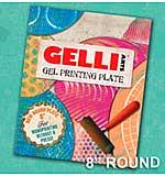 Gelli Arts Gel Printing Plate 8 inch Round