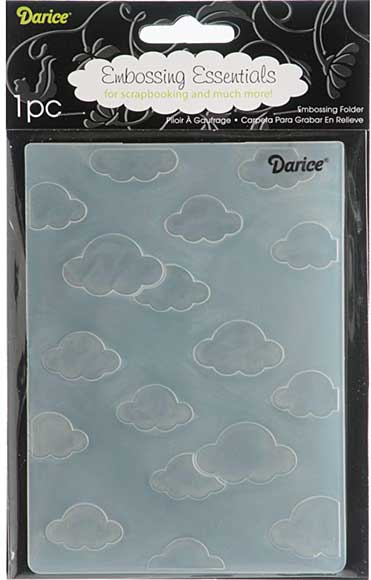 SO: Embossing Folder 4.25x5.75 - Clouds