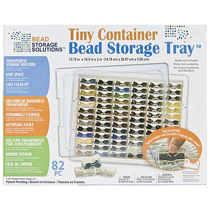 SO: Elizabeth Wards Tiny Bead Storage Tray 13.75x10.5x2
