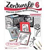Design Originals - Zentangle Book 6 - Making Cards with Stencils
