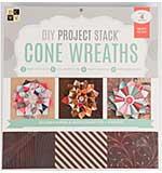 DCVW DIY Project Stack - Cone Wreaths